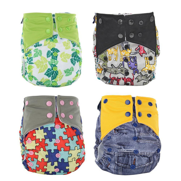 Baby Cloth Reusable Diapers Nappies Washable Newborn Ajustable Diapers Nappy Changing Diaper Children Washable Cloth