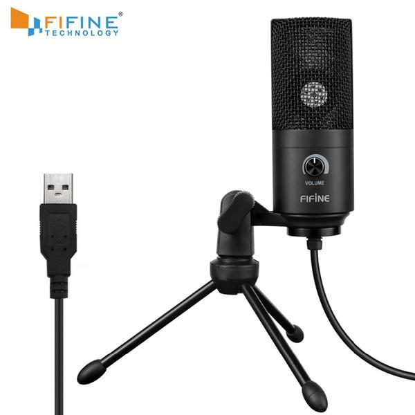 Aufnahmemikrofon USB-Anschlussanzug für Computer Windows MacBook Hohe Empfindlichkeit für Instrument Game Video-Aufnahme K669B
