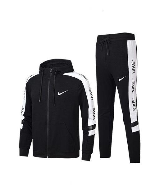 New Arrival Fashion Tracksuits Men Women Sweatsuit 2018 New Fashion Outdoor Sportwear Luxury Sport Suit Cardigan Hooded Long Sleeve Active