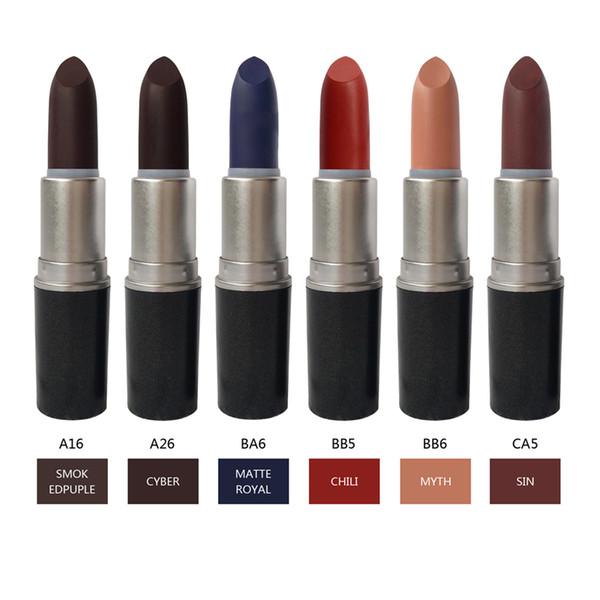 HONEY LOVE rouge à lèvres mat 42 couleurs disponibles VELOURS TEDDY Étanche MYTH RUBY WOO Rétro rouges à lèvres longue tenue Expédition ePacket 1pcs