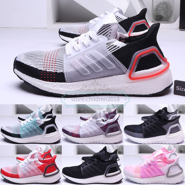 2019 Ultra Boots Kids Shoes Boys Girls Sneakers Ultra 19 Brand DesignerS Cloud White Running Shoes UB 5.0 Baby Trainers Size 11C 3Y Running Trainers