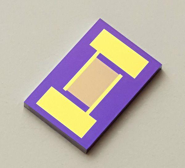 best selling 10 micrometers Interdigitated Electrodes IDE Sputter Gold MEMS Monocrystalline Silicon Medical Chemical Sensor Customize Biosensor Chip