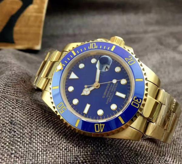 Gold + Bleu