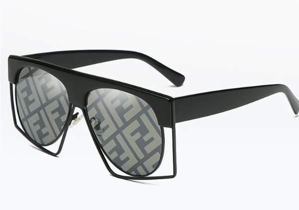 Popular Sunglasses Luxury Women Brand Designer 58050 Square Summer Style Full Frame Top Quality UV Protection