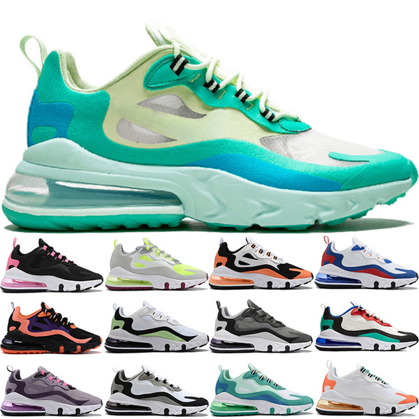 top popular 2019 Fly React 270S 27C Blue Void Hyper Jade Mesh Bauhaus Be Great men running shoes black Hyper pink Multi-color womens sneakers Boots 2019