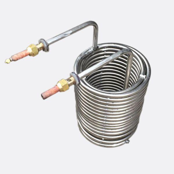 Hot Sale ASTM B338 Gr 1 Seamless Titanium Coil Tube Pipe Gr5 seamless titanium alloy coil pipe