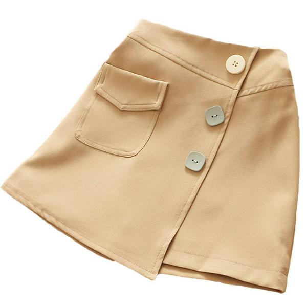 Gonne per ragazze moda 2 colori gonne per bambini abiti firmati per bambini gonne a matita ragazze gonne a-line per bambini autunno inverno 2019 A7453