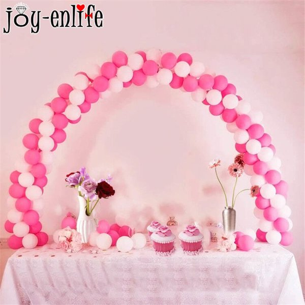 38pcs Diy Balloon Arch Frame Table Stand Kit Decoration For Wedding Birthday Party Balloons Accessories Events Party Supplies Q190429