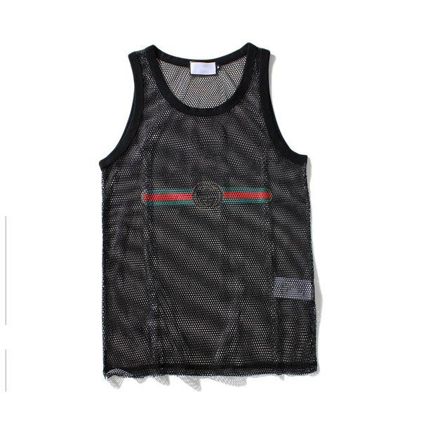 Tank Top for Men Sport Bodybuilding Brand Gym Clothes Designer Women Vests Tee Luxury Summer Tops M-XXL