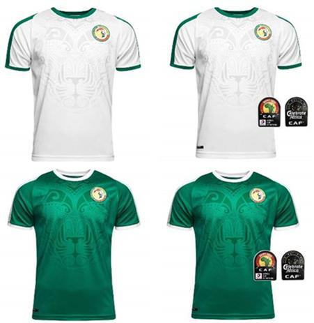 2019 Africa Cup Senegal Soccer Jersey top Thai quality 2020 Senegal national MANE football team soccer shirt Football shirt