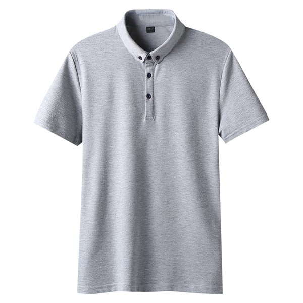 Männer Kleidung 2019 New Slim Fit Kurzarm Herren Shirt Casual Fashion Striped Umlegekragen LC251001