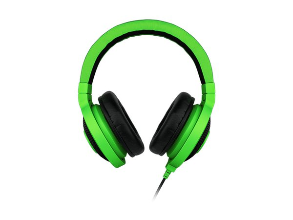 High quality Best Quality 3.5mm Razer Kraken Pro Gaming Headset with Wire control headphones in BOX for IOS Android system most popular