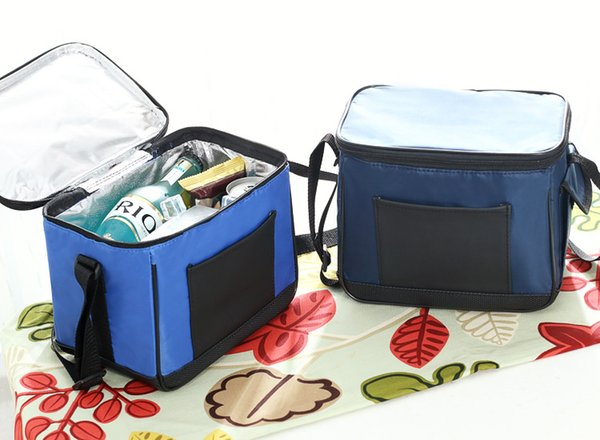free shipping out door Thermal insulated large beer lunch box grade Cooler Bag Ice aluminum film Pack nylon sling milk bag