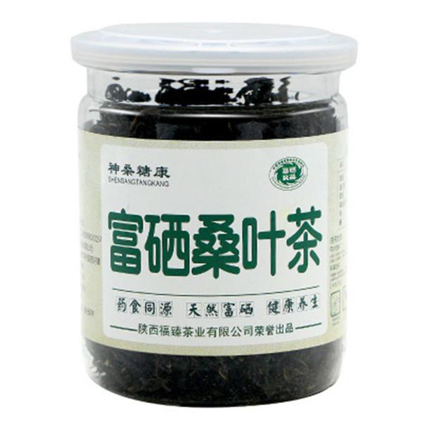 60g Çin Dut yaprakları çay çin bitkisel detoks dut göbek için fayda slayt bitkisel çay kokulu Çiçek Botanik otlar Yeşil çay