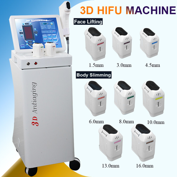 New Technology Ultrasound HIFU Machine Hifu Facial Care Face Lifting Wrinkle Removal 3D Hifu Body Slimming for Sale