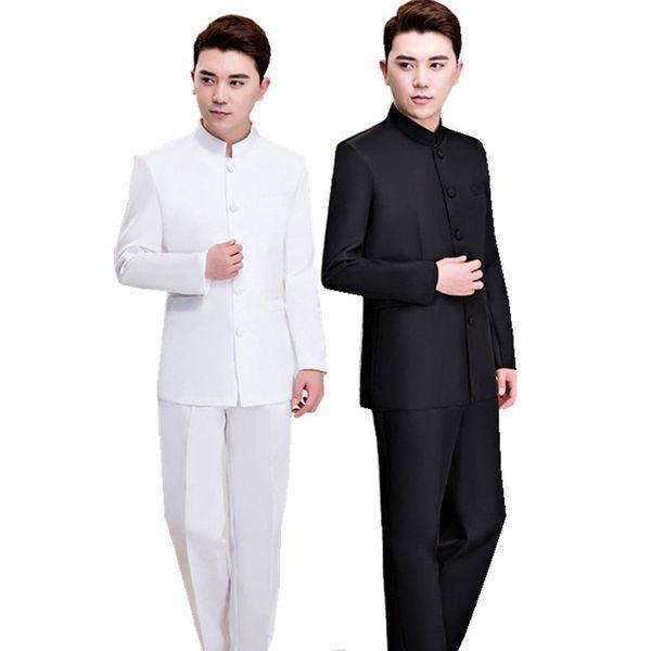 Traditional Chinese Style  Clothes Vintage Wedding Dress Men Hanfu Suit Ancient Costume Plus Size Royals Tang Set 3XL 4XL