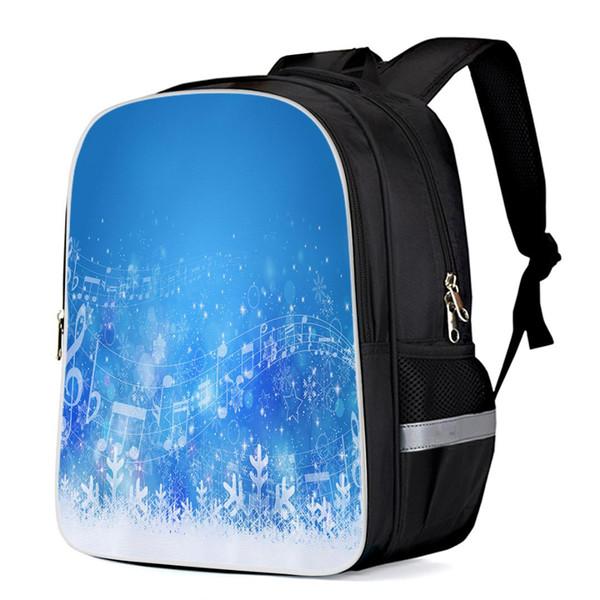 Blue Sky White Snow Christams Fashion Backpacks Laptop Backpacks Computer Bag Shoulder Bag School Bags Travel Bags Diaper