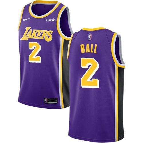 best service dd7c7 4e7ee 2018 2019 New Season Los Angeles Purple 23 LeBron James 14 Ingram 2 Ball  Jersey Lakers Mens 32 Johnson Edition Basketball Jersey Wedding Tailcoat ...