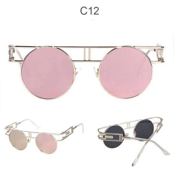 C12 miroir rose doré
