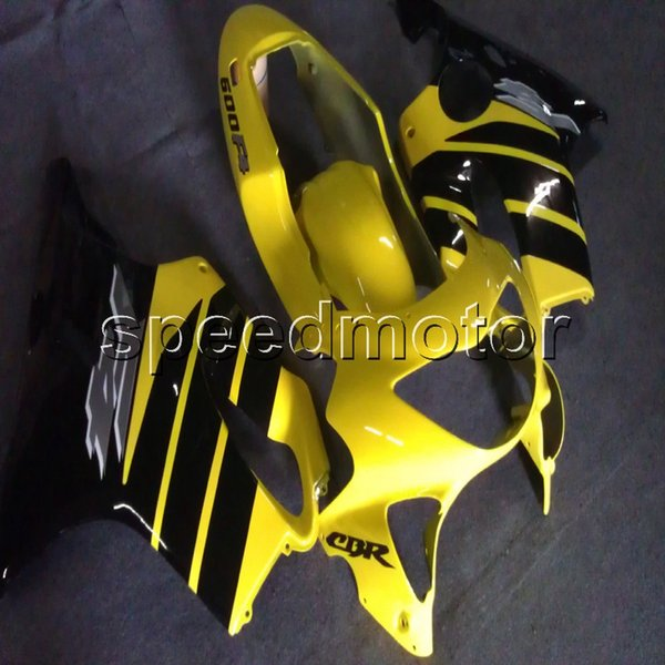23colors+Gifts Injection mold yellow black motorcycle cowl Fairing for HONDA CBR 600F4 1999 2000 CBR600 F4 99-00 ABS plastic kit