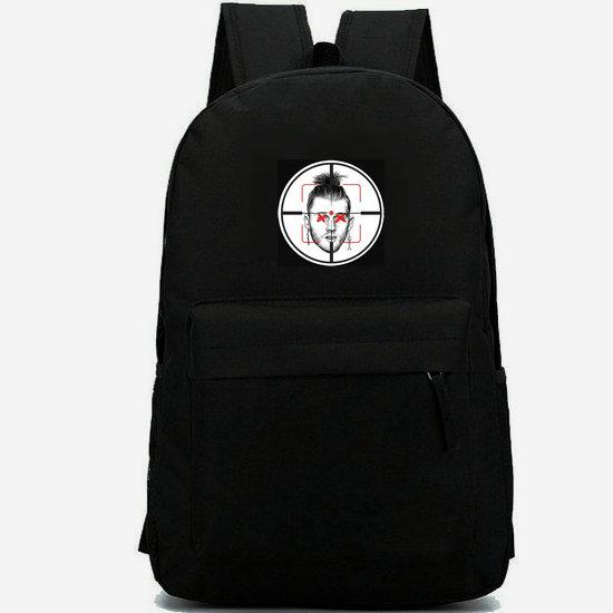 MGK backpack Machine Gun Kelly daypack Wild boy schoolbag Rapper star rucksack Casual school bag Outdoor day pack