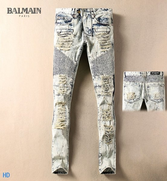 2019 New Fashion Design For Men High Quality And Exquisite Korean Edition Jeans Embroidery Slim Casual Small Straight Foot Trousers 9