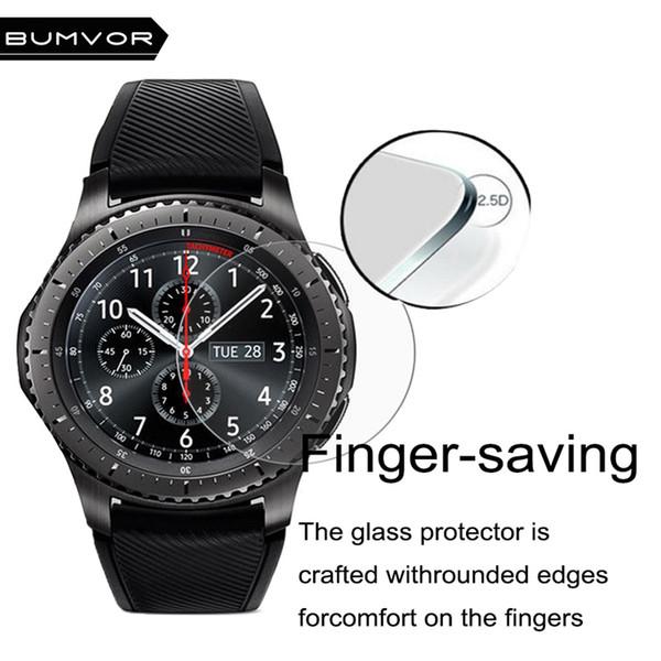BUMVOR sportivi Accessori protezione dello schermo per Samsung Gear S3 Classic / Frontier ultra sottile Screen Protector goccia Shippi