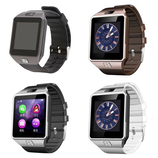 Dz09 mart bluetooth watch wri twatch im lot intelligent mobile phone watche touch creen for martphone with package