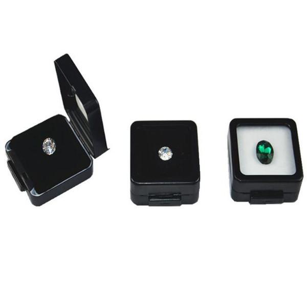 Small Loose Diamond or Gem Stone Display Metal Box Case Storage Container Jewelry Stones Holder Gemstone Organizer