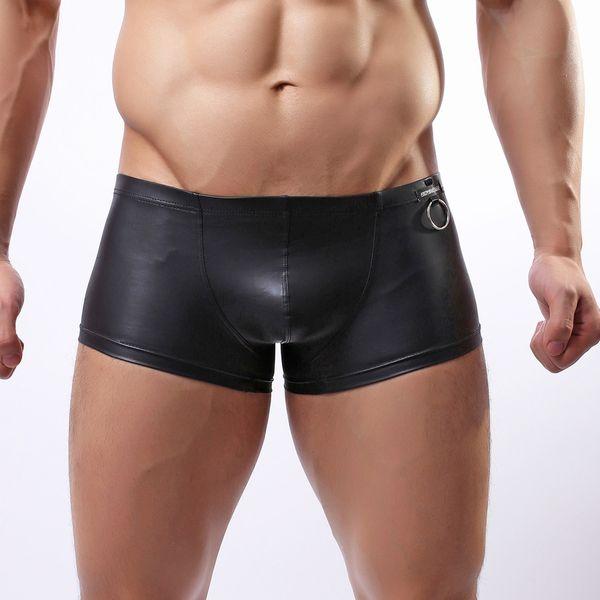 Feitong 2019 Boxer Men Cueca Print Boxer Shorts Bulge Pouch Underpants Gay Clothing Mens Underwear Boxers Brand