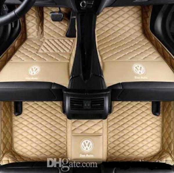 Aplicable a Shanghai Volkswagen Phideon 2016-2018 alfombrilla para auto personalizada, almohadilla delantera y trasera, accesorios antideslizantes estera impermeable para auto