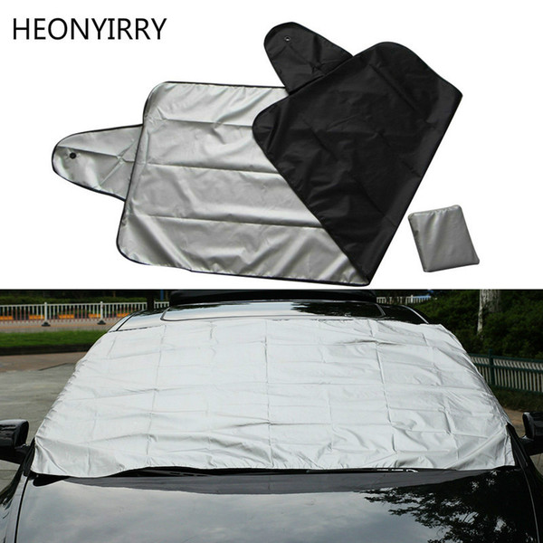best selling Car Exterior Protection Snow Blocked Car Covers Snow Ice Protector Visor Sun Shade Front Rear Windshield Cover Block Shields