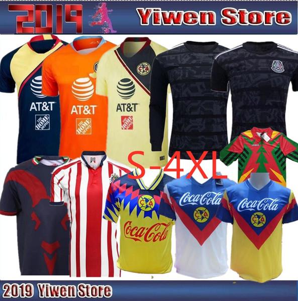8105ea282 Size 4xl 2018 liga mx club america occer jer ey 18 19 mexico o peralta home  away football jer ey chiva guadalajara hirt - dhgate.com - imall.com