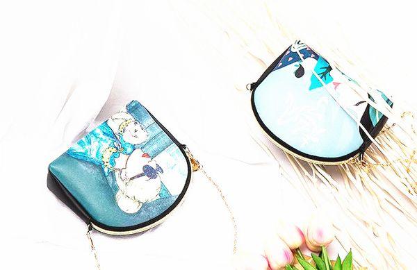 2019 new casual fashion Messenger bag female wild shoulder bag 54197