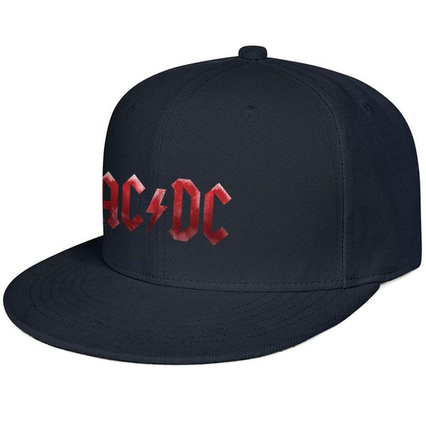 ACDC Black Ice rock band red Snapback Trucker Cap Cool Cotton Caps Rugged Youth Men's Women Hats