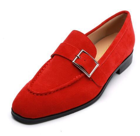 2019 hommes mocassins à la main boucle rouge boucle fumer moine casual chaussures chaussures de mariage sur mesure pour les hommes