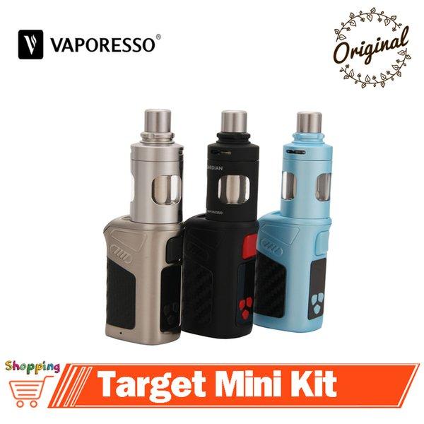 Original Vaporesso Alvo Mini Kit 40 W Vape Alvo Mini Caixa de TC Mod 2 ml Guardião Tanque 1400 mAh Embutido Bateria E Cigarro de Vapor
