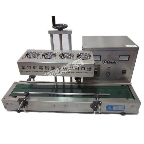 best selling High-quality Fully Automatic Continuous Electromagnetic Induction Sealing Machine Bottle Mouth Sealing Machine 110V 220V 2.4KW