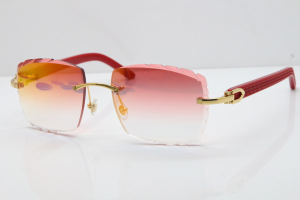 Gold Red Mirror Lens
