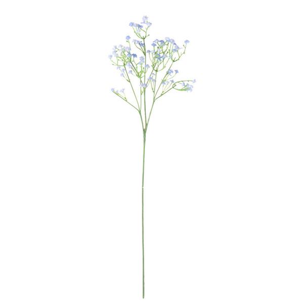 Artificiale Babysbreath Paesaggio Pianta in vaso di simulazione Babysbreath Flower House Piante per la casa Indoor Decor (azzurro) Blu