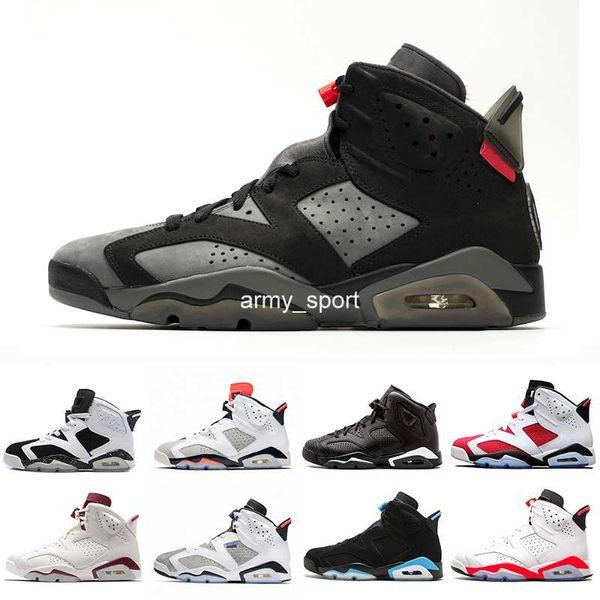 2019 DMP 6 PSG 6s Mens Basketball shoes Marron Tinker White Infrared Gatorade Alternate Wheat Sport Blue Oregon Designer sneakers US 7-13