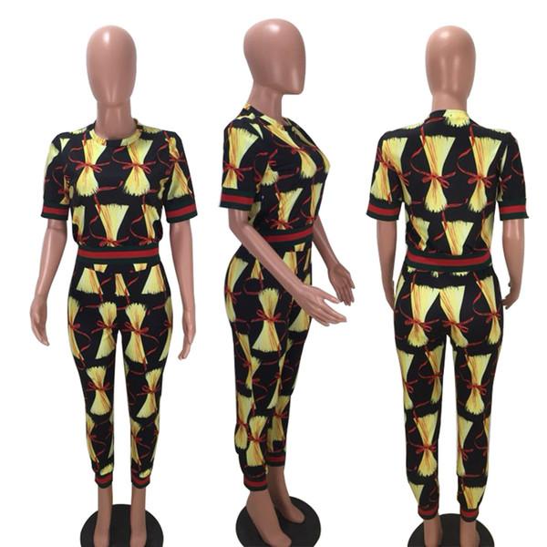 costume décontracté imprimé à rayures rouges et vertes pour femmes Vêtements Vêtements Deux pièces ensembles
