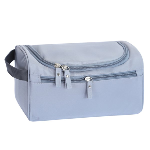 Makeup Bag Portable Travel Zipper Oxford Cloth Cosmetic Storage Outdoor Organizer Splash Proof Large Capacity Tote Hanging