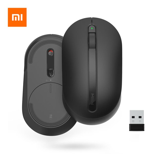 Xiaomi MIIIW Wireless Mouse Soft Touch Ergonomic Mouse Optical Mice 2.4G Wireless USB Receiver For Win7/8/10/XP Mac OS
