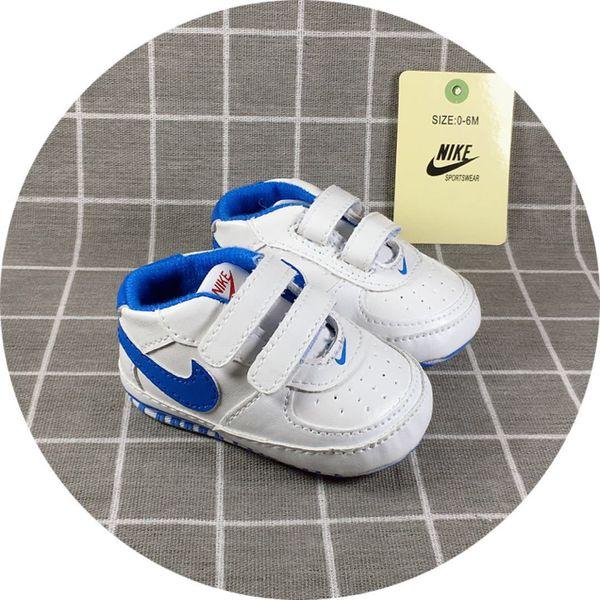 Bebek Ayakkabı Yenidoğan Erkek Kız Desen İlk Walkers Çocuk Tulumları Lace Up PU Sneakers 0-18 Ay Prewalker Bahar Sonbahar B101