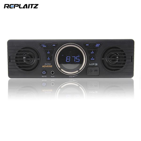 AV252B 1 Din DC 12 V Rádio Do Carro Do Bluetooth 2.1 + EDR Handsfree In-dash Auto Car MP3 Player Estéreo USB Cartão TF AUX Built-in Alto-falantes