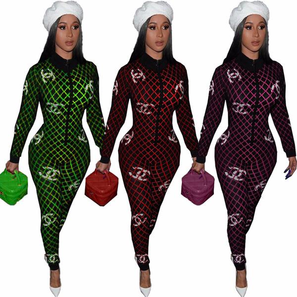DN82970 моды модели взрыва Европы и Соединенных Штатов дамы сексуальные письма приграничное одежда печать плотный комбинезон ночной клуб