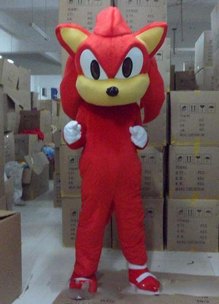 2019 Factory Outlets Sonic the Hedgehog Mascot costume Sonic Mascot costume Spedizione gratuita