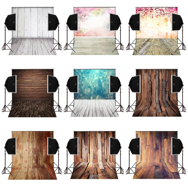 custom 5X7FT natural floor woodland vinyl photography backdrop photo background digital music studio prop comunion decoracion for party