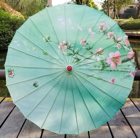 Dance Umbrella Oiled Paper Umbrella Decoration Prop Ancient Costume Photography Parasol Sombrilla Waterproof Pesca
